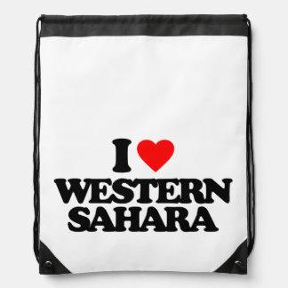 I LOVE WESTERN SAHARA RUCKSACK