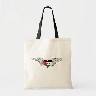 I Love Western Sahara -wings Tote Bag