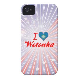 I Love Wetonka, South Dakota iPhone 4 Case-Mate Cases