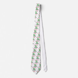 I Love Whales Tie