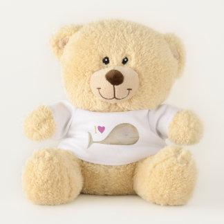 I love Wheels and teddy bears