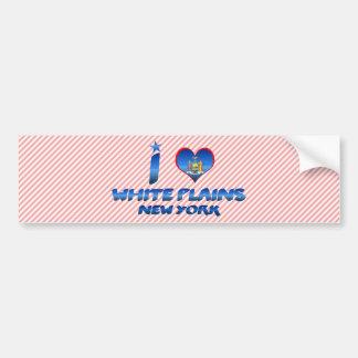 I love White Plains New York Bumper Sticker