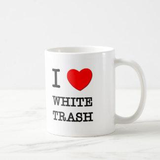 I Love White Trash Mug