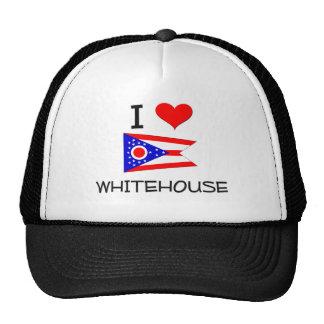 I Love Whitehouse Ohio Trucker Hat