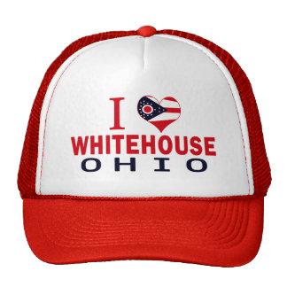 I love Whitehouse, Ohio Mesh Hats