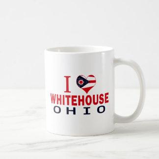 I love Whitehouse, Ohio Mugs