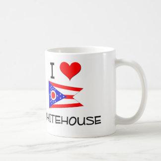 I Love Whitehouse Ohio Mugs