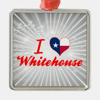 I Love Whitehouse, Texas Christmas Ornament