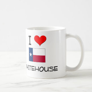 I Love Whitehouse Texas Coffee Mug