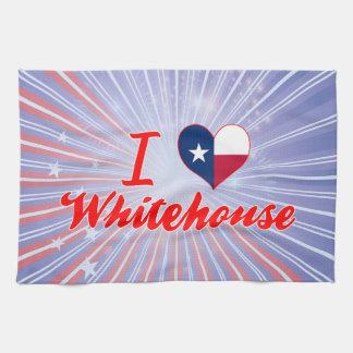 I Love Whitehouse, Texas Kitchen Towels