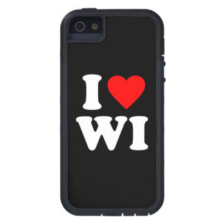 I LOVE WI TOUGH XTREME iPhone 5 CASE