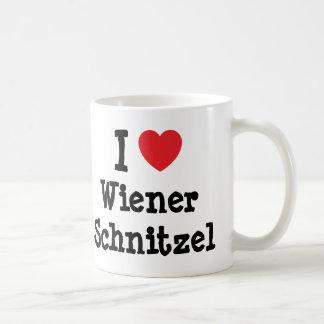 I love Wiener Schnitzel heart T-Shirt Mugs
