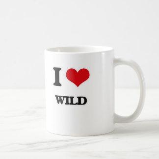I Love Wild Coffee Mug