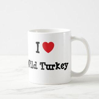 I love Wild Turkey heart T-Shirt Mug