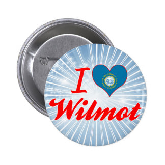 I Love Wilmot, South Dakota Pins