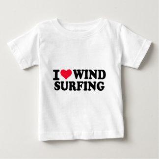I love Windsurfing Baby T-Shirt