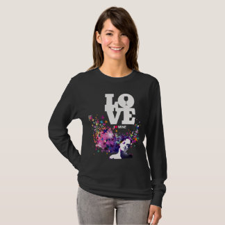 I Love Wine Deep thoughts T-Shirt