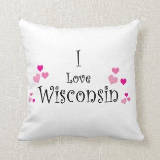I Love Wisconsin Cushion