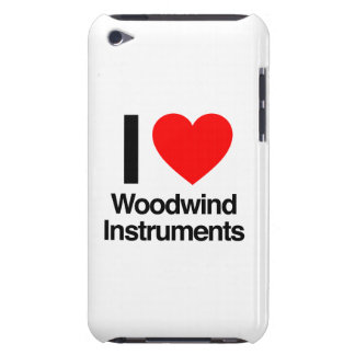 i love woodwind instruments Case-Mate iPod touch case
