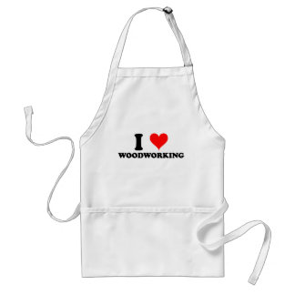 I Love Woodworking Standard Apron