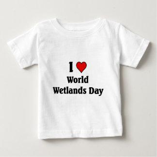 I love world wetlands day shirts