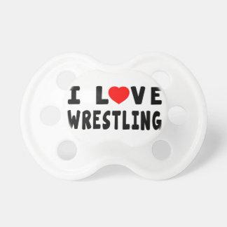 I Love Wrestling Dummy