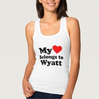 I love Wyatt Singlet