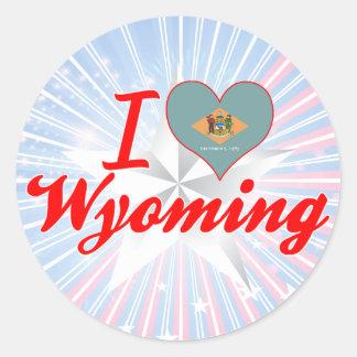 I Love Wyoming, Delaware Sticker