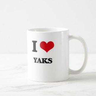 I Love Yaks Coffee Mug