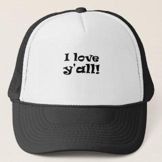 I Love Yall Trucker Hat