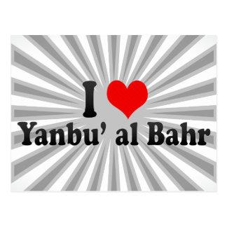 I Love Yanbu' al Bahr, Saudi Arabia Postcard