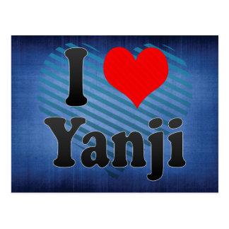 I Love Yanji, China. Wo Ai Yanji, China Postcard