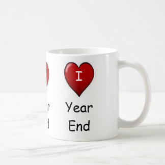 I Love Year end! Triple-sided Coffee Mug