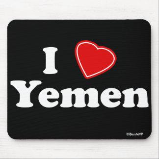 I Love Yemen Mouse Pad
