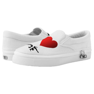 I love yoga and meditation printed shoes