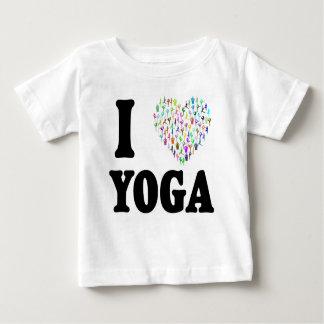 I Love Yoga Baby T-Shirt