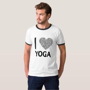 I Love Yoga Funny yoga gift T-Shirt