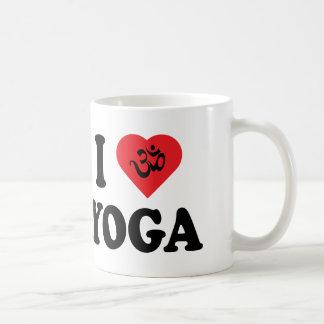 I Love Yoga Gift Coffee Mug