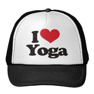 I Love Yoga Hat