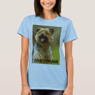 I love Yorkies! T-shirt