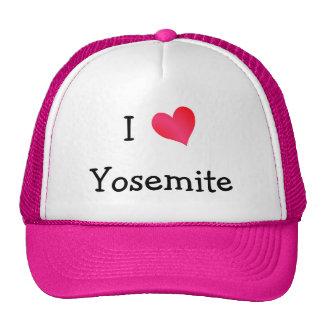I Love Yosemite Trucker Hat