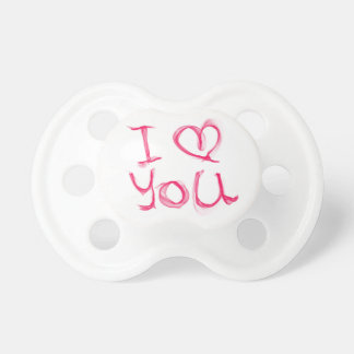 I love you 0-6 months BooginHead® Pacifier