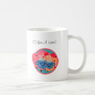 I love you a latte kawaii snuggle mugs -