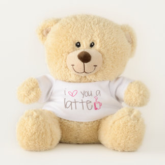 I Love You A Latte Teddy Bear