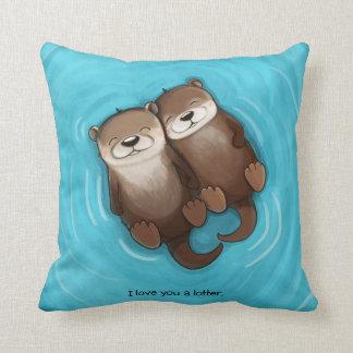 I Love You a Lotter Cushion