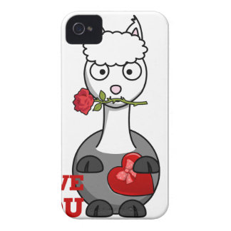 i love you alpaca iPhone 4 cover