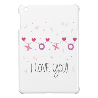 I love you Banner Case For The iPad Mini