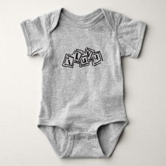 I Love You Blocks Baby Bodysuit
