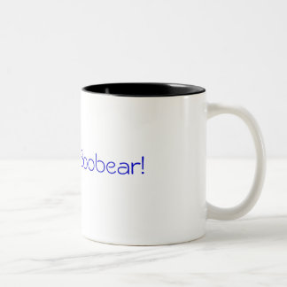 I love you Boobear! Two-Tone Coffee Mug