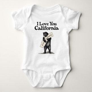 I Love You California Baby Bodysuit